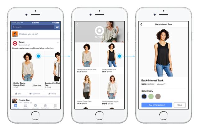 Facebook加强电商业务,推出购物栏目