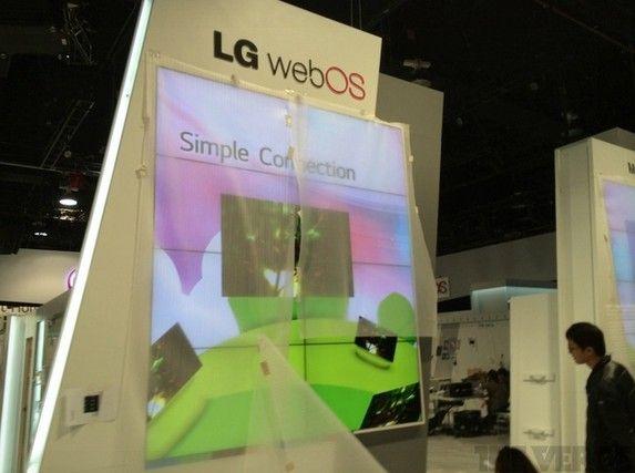 LG让webOS重装亮相CES 被惠普抛弃后再度复活