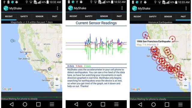 这个应用把你的手机变成监测点,告诉你哪里地震了