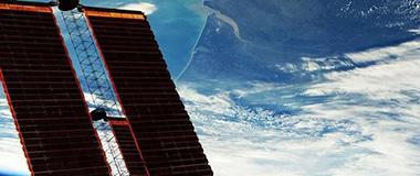 """宇航员更新""""太空日记"""" 地球美照来袭"""