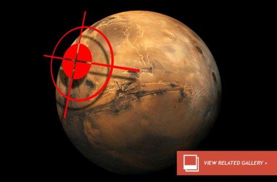火星将遇惊天浩劫?彗星撞击概率为1/2000