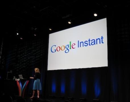 """谷歌推出""""即时搜索""""Google Instant"""