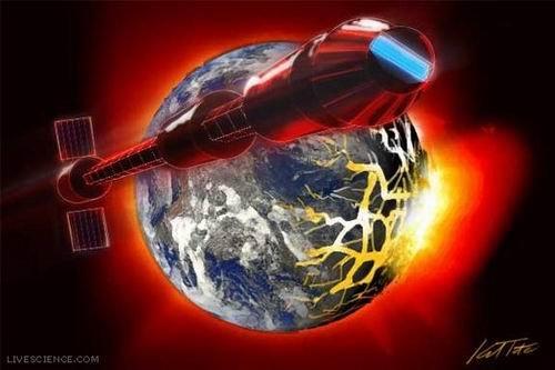 """科学家:地球毁灭时人类乘""""月球方舟""""逃生"""