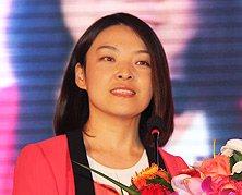 中国互联网协会网络营销工作委员会秘书长王海晶发表致辞
