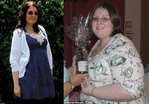 哈华斯减肥前后对比