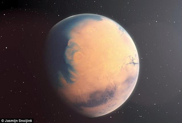 50万年前火星表面尚存在液态水!