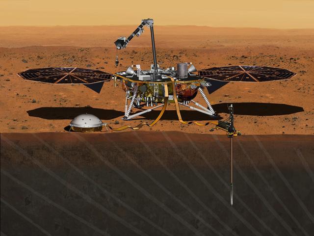 "NASA推迟""洞察号""火星探测器发射至2018年"