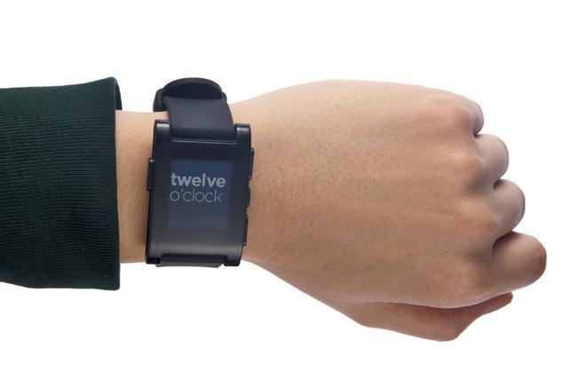 Pebble累计售出40万智能手表 今年营收或翻番