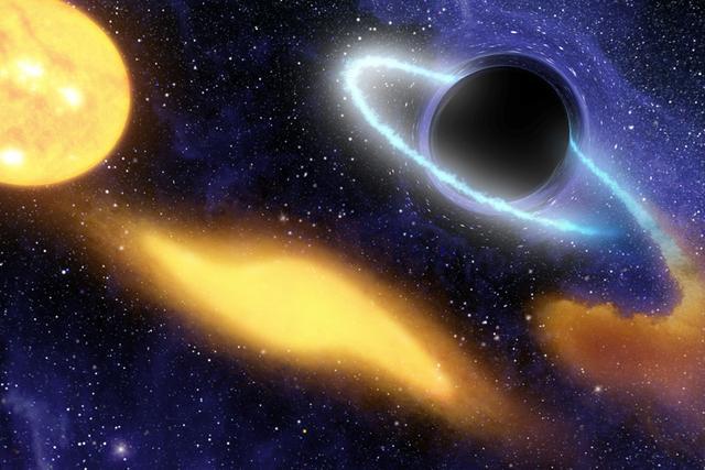 神秘暗物质接近黑洞可发出高能伽玛射线