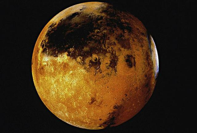 研究称微生物可幸存于火星稀薄大气层之中
