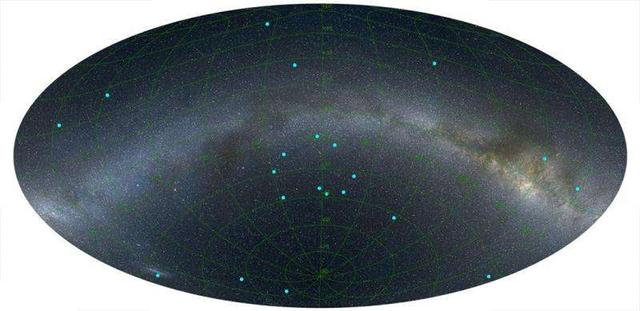 科学家发现宇宙巨型环结构 尺度达50亿光年