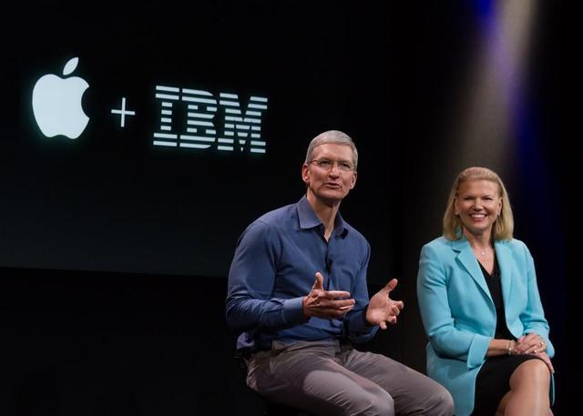 看苹果和IBM如何从死敌走向合作