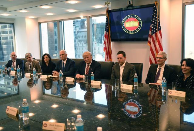 特朗普移民新政不得人心,科技巨头纷纷反对