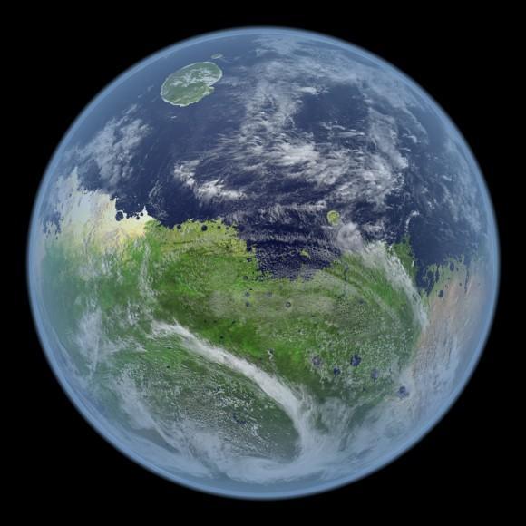 德国科学家研究如何让蓝藻改造火星大气