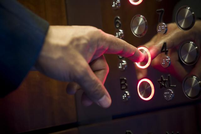 微软研究院打造智能电梯 测定用户想去楼层