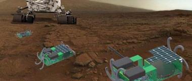 NASA这款手掌大小机器人可探索火星熔岩管道