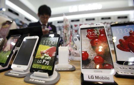 LG二季度手机销量增两成