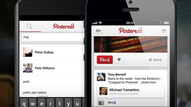 Pinterest移动访问占75% 图片营销价值攀升25%