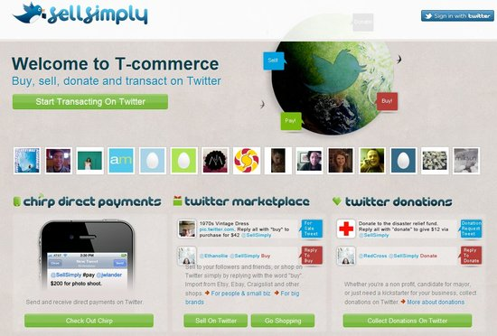 Sell Simply:让用户直接在Twitter上买卖