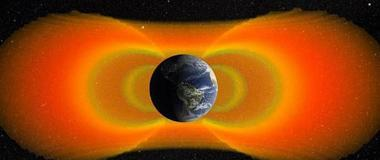 范艾伦辐射带内部辐射量比之前预想的更弱