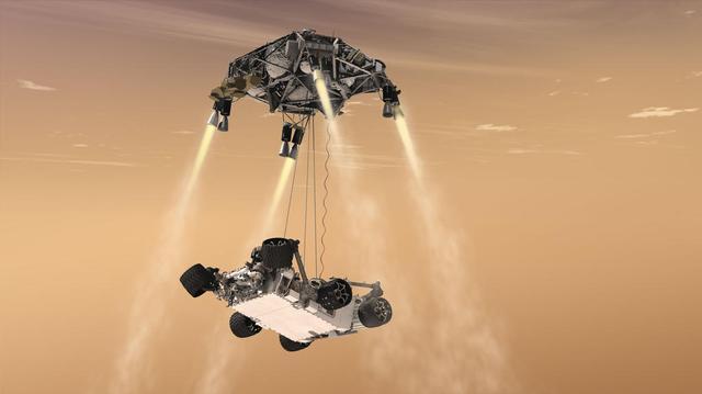 不是SpaceX 美国宇航局敲定2020年核动力火星车由谁来发射