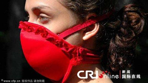 """可变防毒面具胸罩上市 曾获""""另类诺贝尔奖"""""""