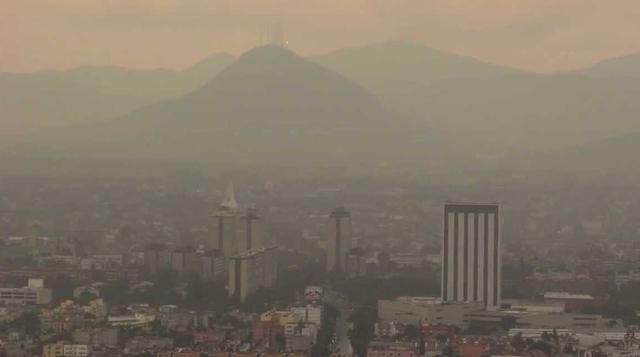 雾霾来袭 墨西哥城紧急应对