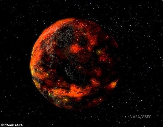 月球上也有水 来自于45亿年前小行星碰撞