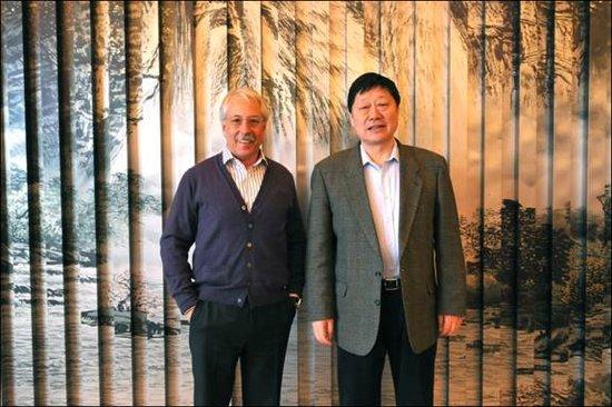 """加里·哈默与张瑞敏谈""""管理大未来"""""""