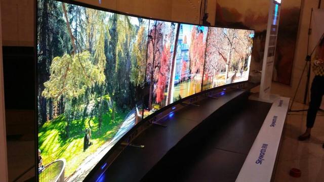 创维量产OLED智能电视 比iPhone 5s薄3.3mm