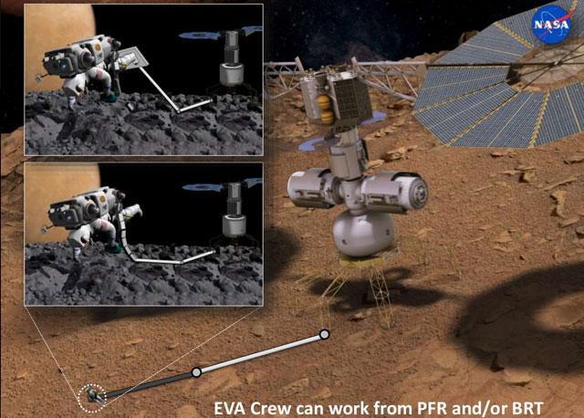 NASA:2033年登陆火卫一 2039年登陆火星