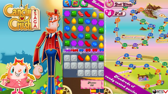 Candy Crush Saga��������ϷΪ�����ű��죿