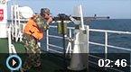 实拍中国海警南海射击演习