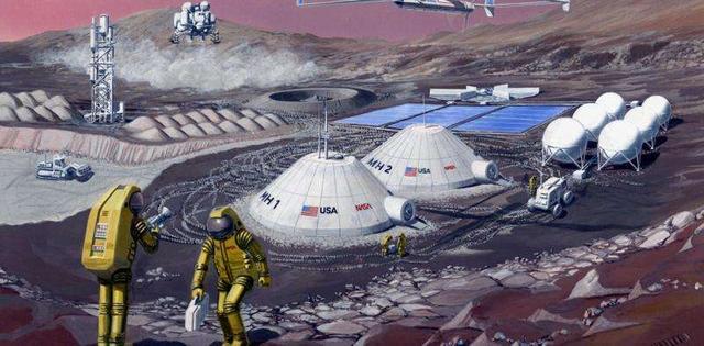 人类应该积极往太空进发 寻找新的居住场所