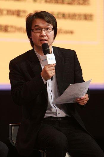 DCCI互联网数据中心总经理胡延平(腾讯科技摄)