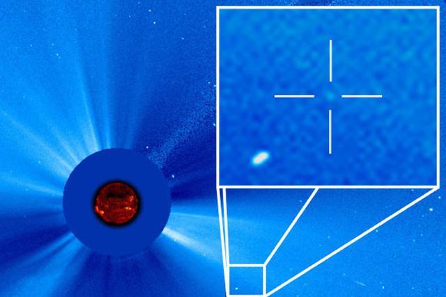NASA太阳探测器20年内发现第3000颗彗星