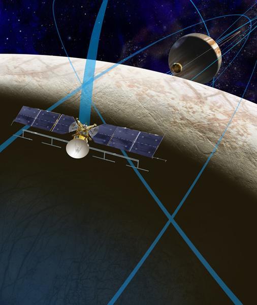 美科学家相信木卫二冰下海洋应该有生命