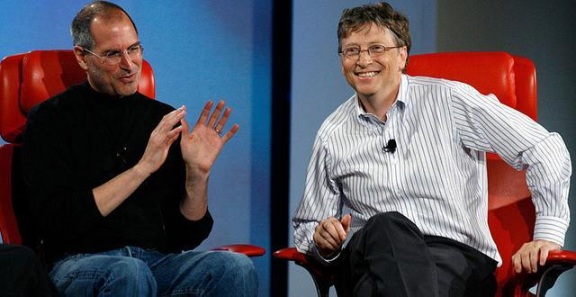 苹果为何成功超越微软