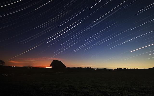 天龙座流星雨9日极盛 公众可观赏慢速流星