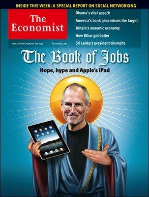 图文:乔布斯登上《经济学人》封面