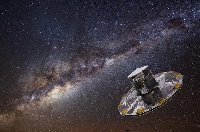 科学家测出太阳绕银河系中心运动距离和速度