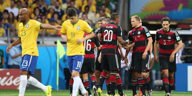 互联网上的世界杯:巴西遭横扫成最热话题