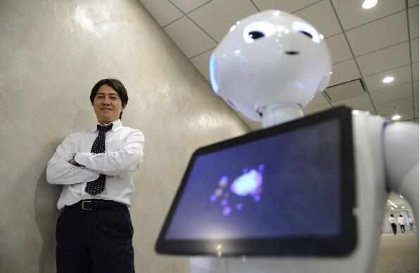 软银人形机器人Pepper明年夏季在美国开售