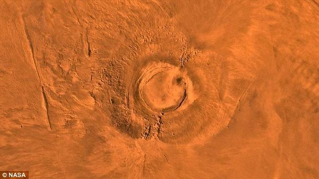 火星最后火山喷发时间与地球恐龙灭绝相重叠