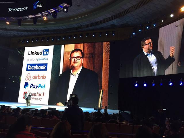 硅谷人脉王Reid Hoffman:做自己人生的创业者
