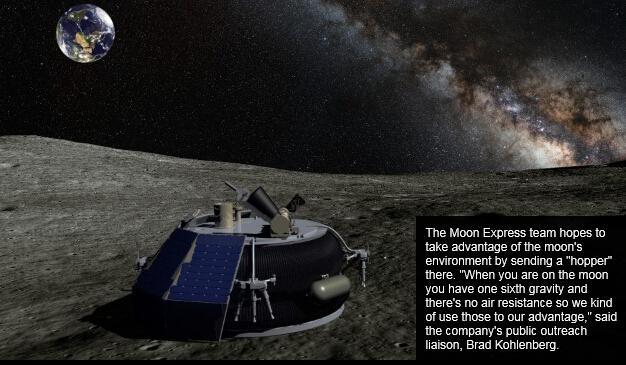 谷歌:造个机器人送它到月球 奖你2亿美元