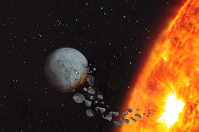 科学家发现太阳没吞噬地球已算是万幸