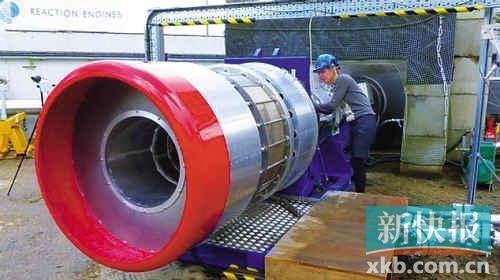 """英国公司成功对""""云霄塔""""飞行器引擎测试"""