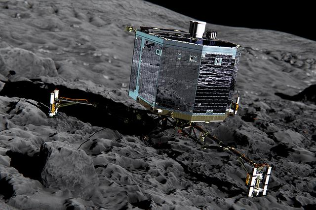欧洲空间局正关闭与菲莱着陆器通信