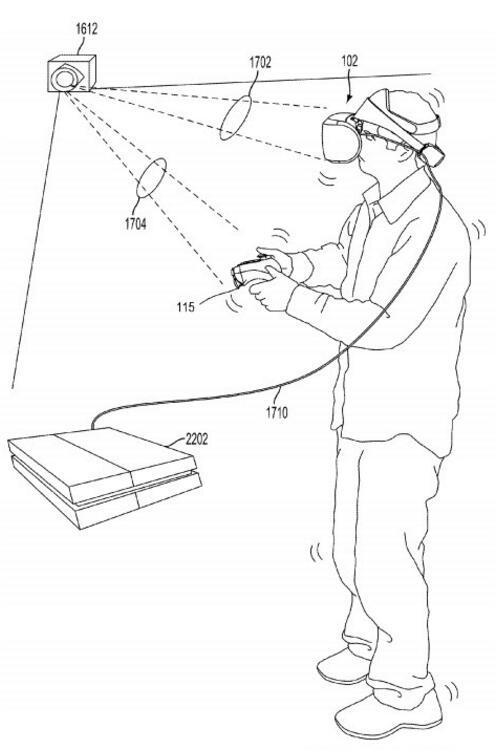 索尼新专利曝光 为PS VR研发类似Vive的追踪设备